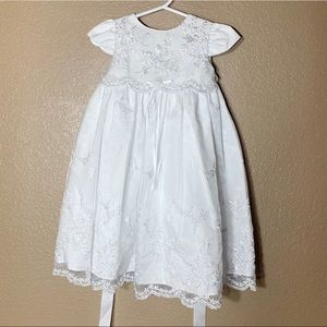 Other - Baptism baby girl dress and matching hat
